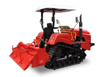 70 HP Crawler Farm Tractor Used In Water Field Compact Structure