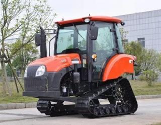 50 HP Crawler Farm Tractor Used In Water Field Compact Structure